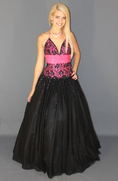 A pink and black dress -2246.JPG